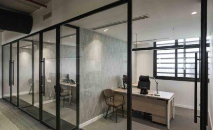 Desain Interior Kantor Bergaya Coworking Space